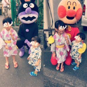 幼稚園の夏祭り〜可愛い盆踊り〜